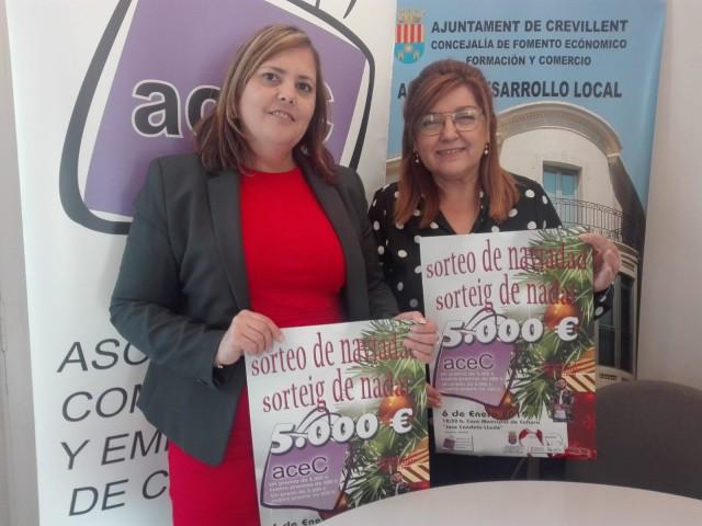 La Asociación de Comerciantes  abre la campaña de Navidad con   el sorteo que repartirá  5.000€ en premios