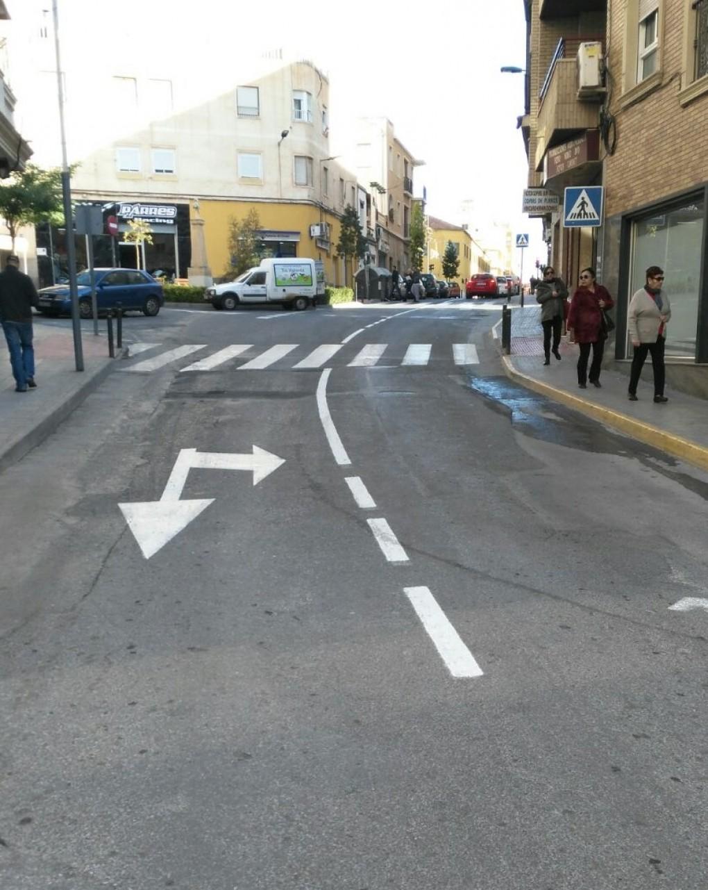 El Ayuntamiento comenzará este lunes el asfaltado de la Avenida de Madrid y las calles Santo Tomás, Salitre, Virgen de la Esperanza y Rey Jaime I
