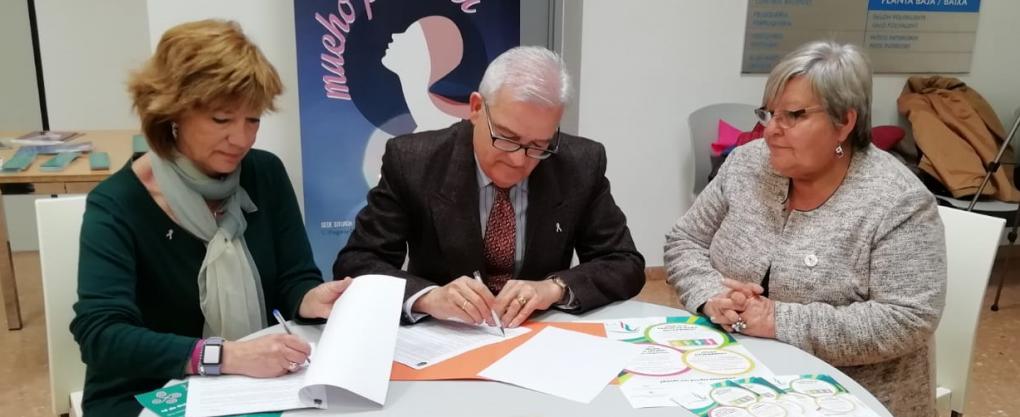 """El Ayuntamiento y AMACMEC inauguran la sede que tendrá la Asociación en el Centro de Mayores """"Parc Nou"""""""