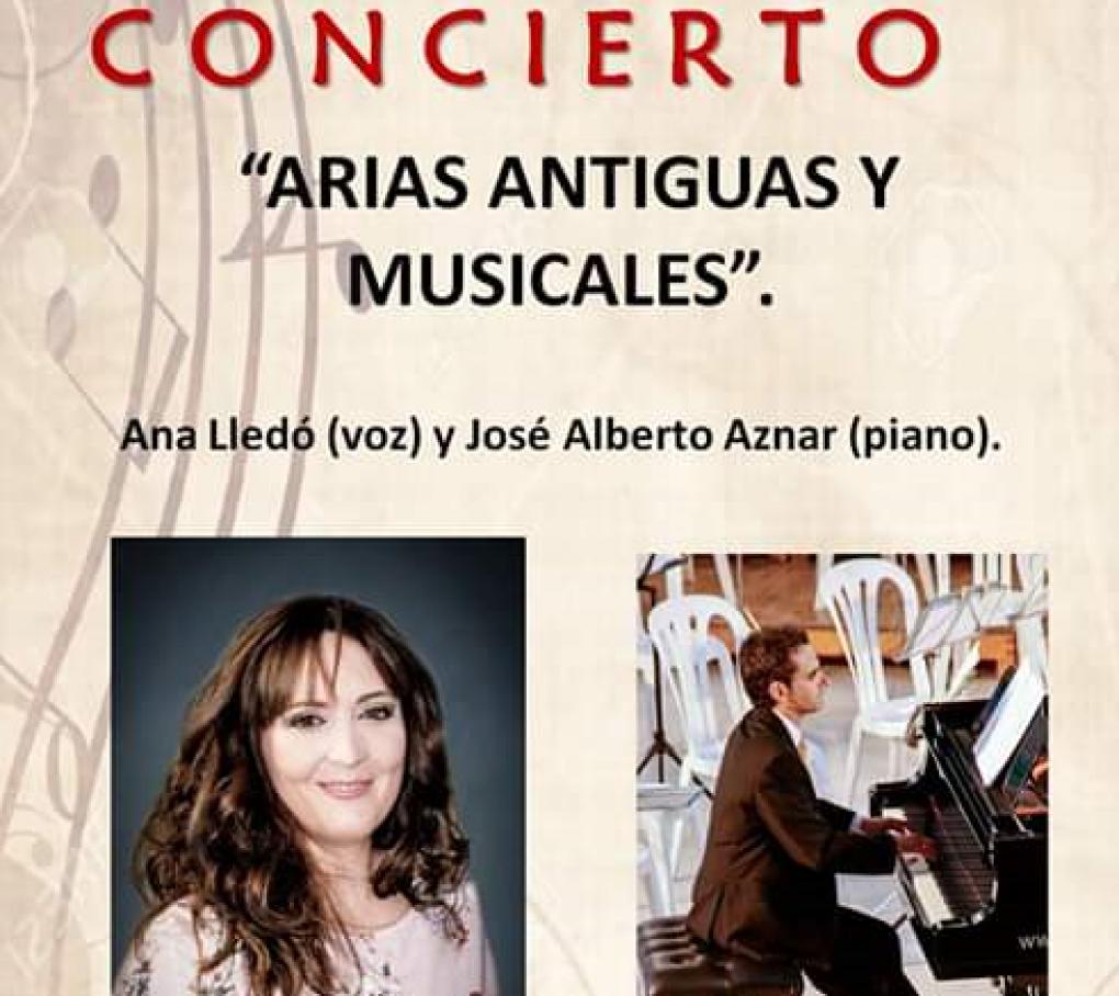 """La Casa Municipal de Cultura acoge el viernes el concierto """"Arias Antiguas y Musicales"""""""