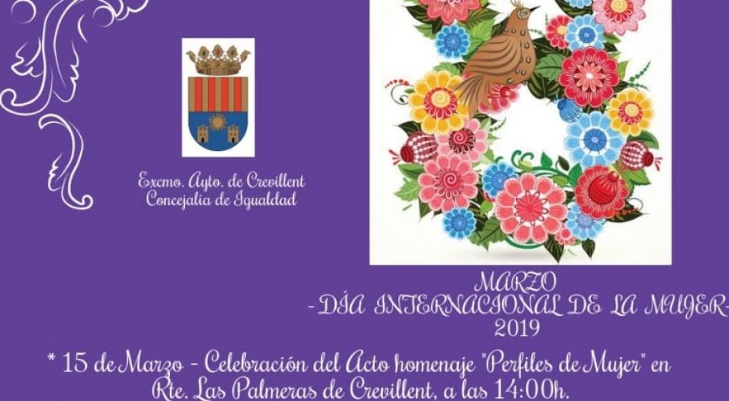"""Igualdad celebra este viernes el acto """"Perfiles de Mujer"""" en el Restaurante Las Palmeras"""