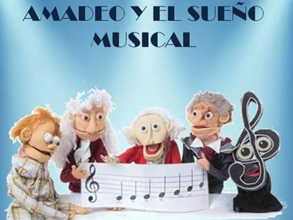 """La Casa Municipal de Cultura acoge la representación teatral """"Amadeo y el sueño musical"""""""