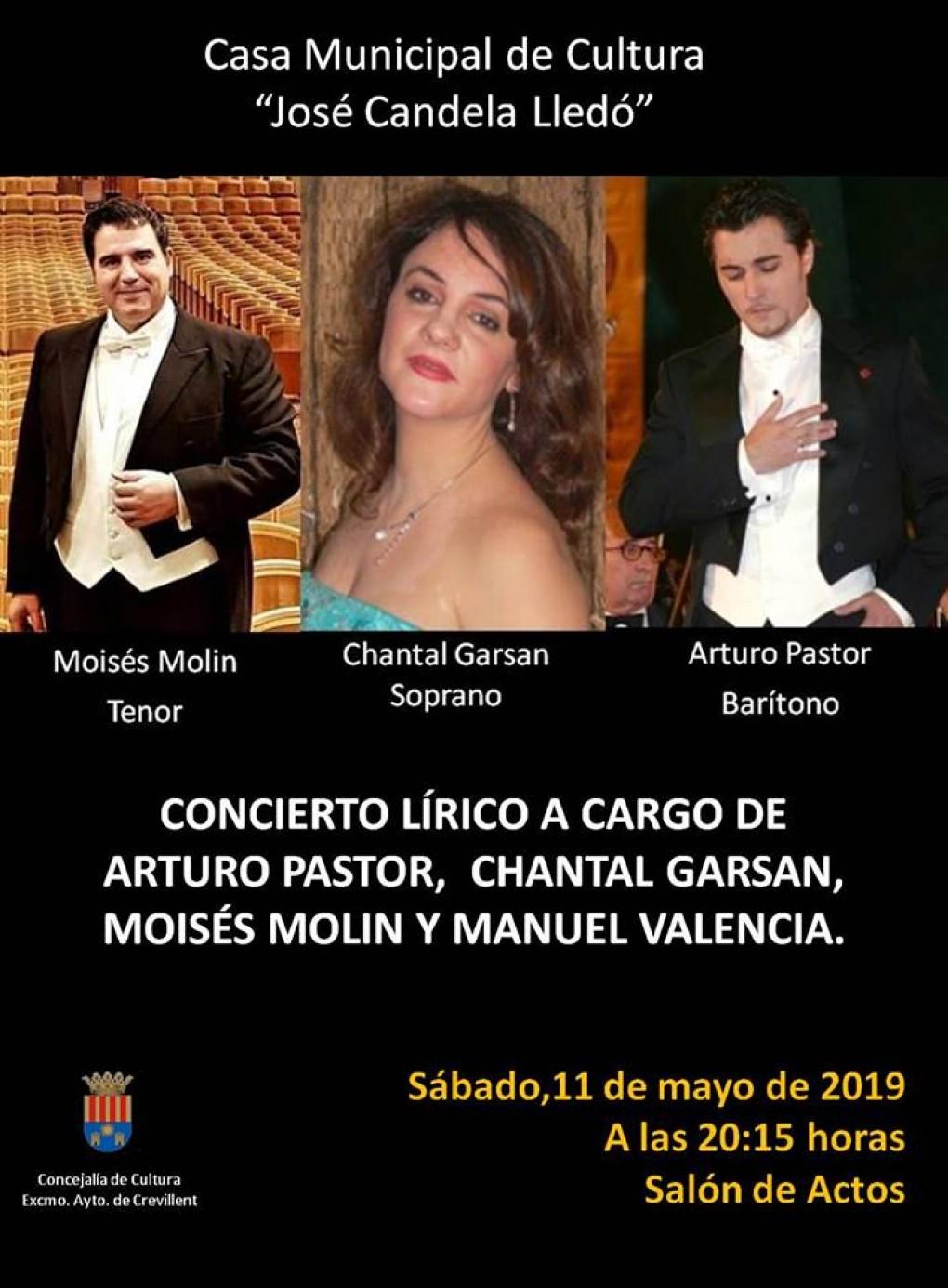 La Casa de Cultura acoge el sábado un concierto de ópera y zarzuela