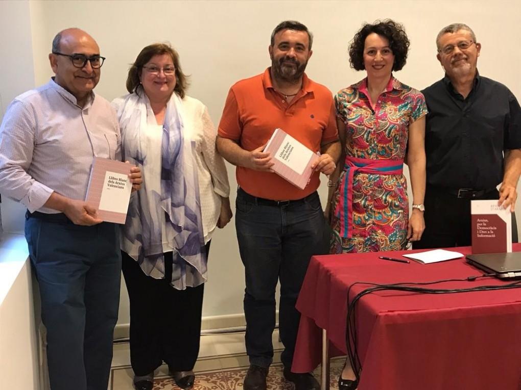 El Archivo Municipal acogió el VIII Encuentro de Archiveros de la provincia de Alicante
