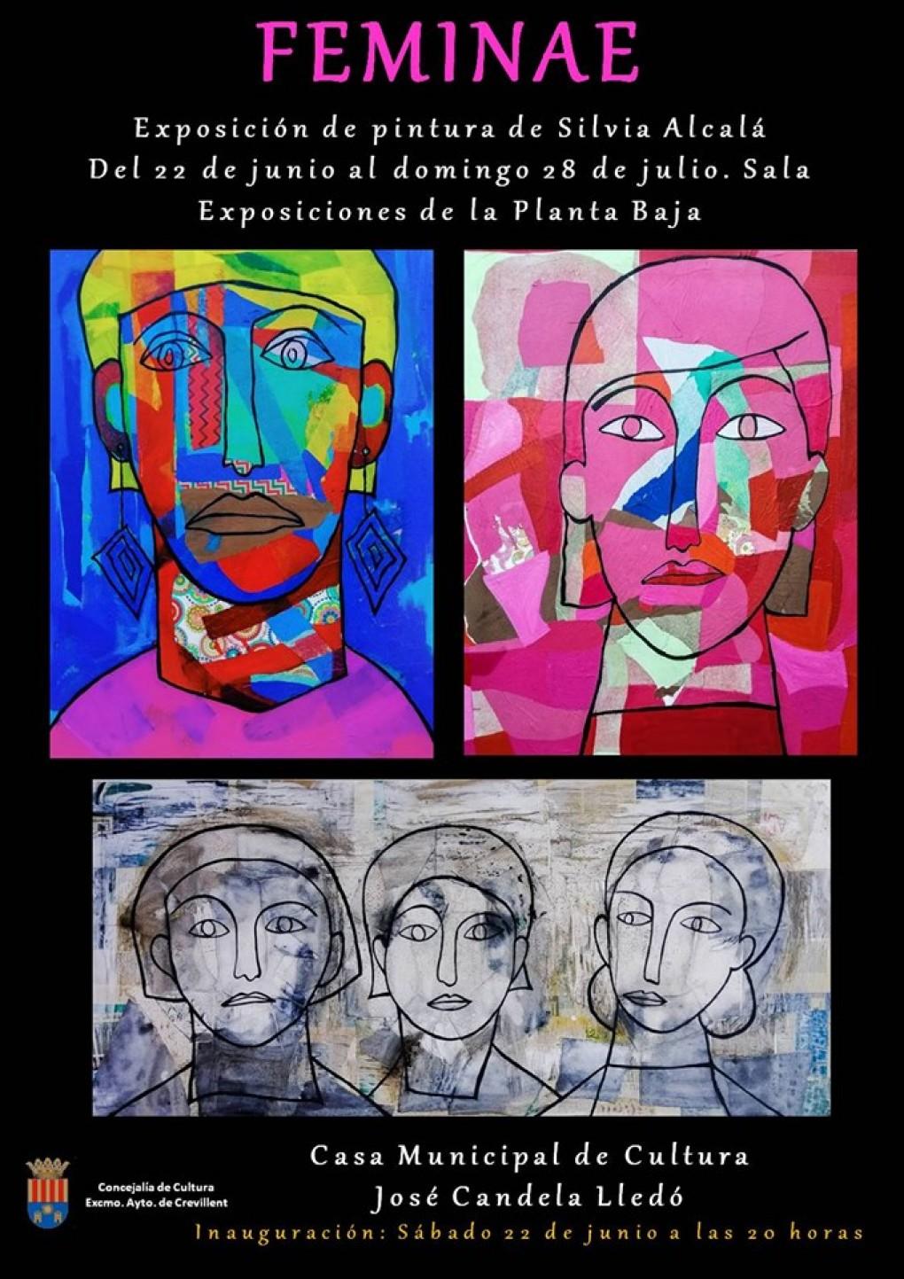 """La Casa Municipal de Cultura acoge la exposición """"Feminae"""" de Silvia Alcalá"""