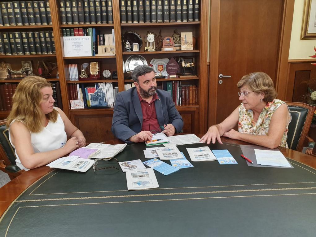 El alcalde i la regidora de Sanitat realitzen dues reunions en torn a matèries de salut