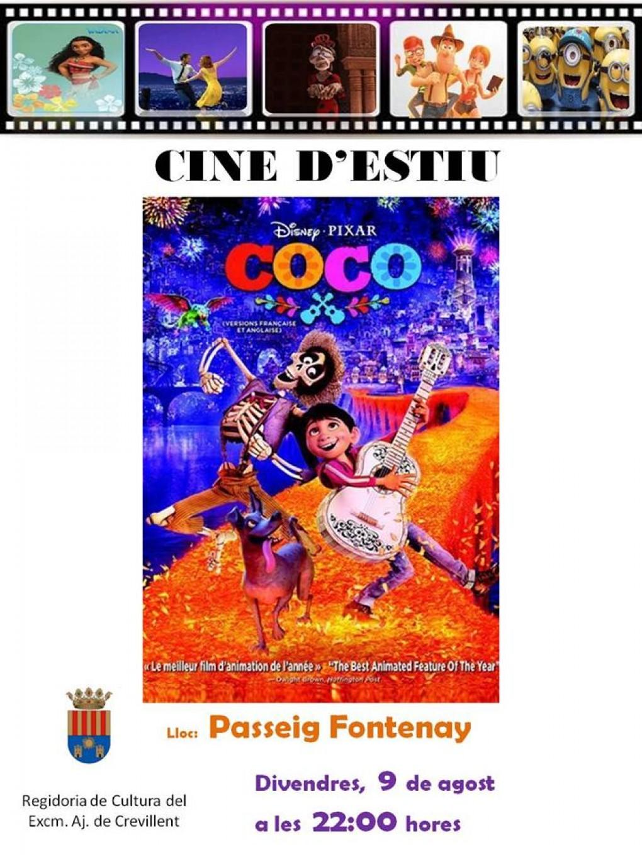 Cinema d'estiu al Passeig Fontenay aquest divendres 9 d'agost a les 22.00