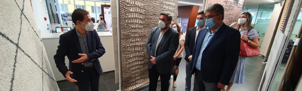 """Inauguració de la """"V Feria-Exposición de la Alfombra de Crevillent"""""""