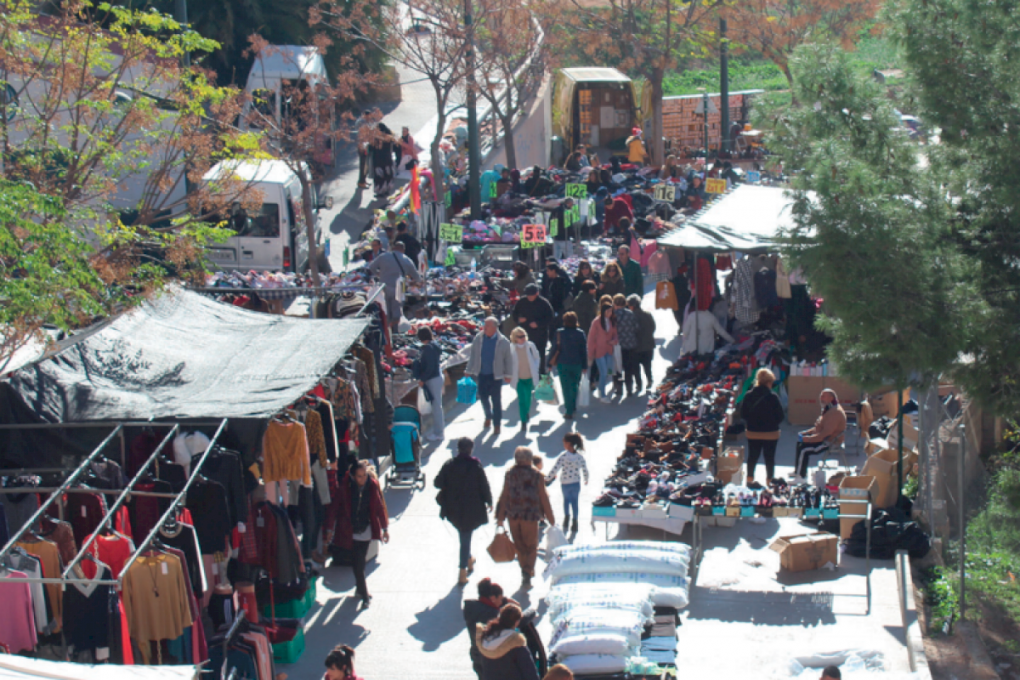 El mercat ambulant de Crevillent se celebrarà el divendres 2 i el dijous 8 d'octubre