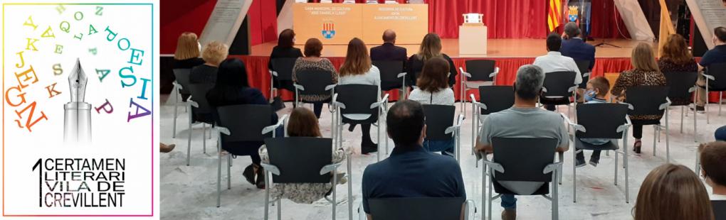 """Entregats els premis del primer Certamen Literari """"Vila de Crevillent"""""""