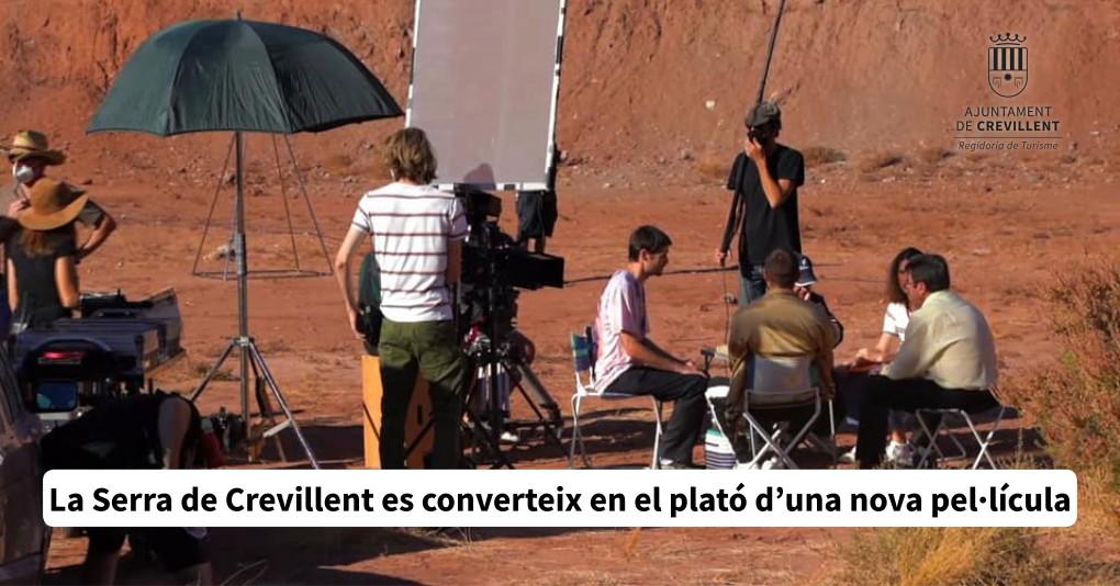 La Serra de Crevillent es converteix en el plató d'una nova pel•lícula