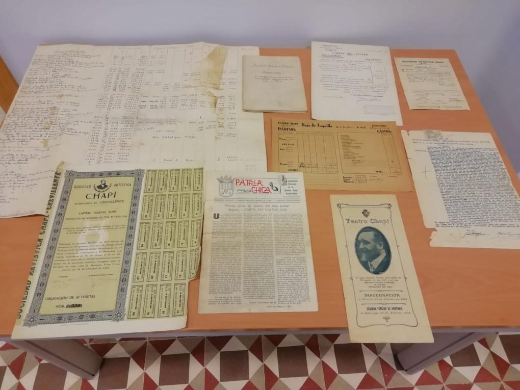 Donació documentació Teatre Chapí