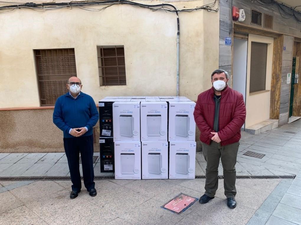 Dotació de purificadors d'aire per als centres educatius de Crevillent