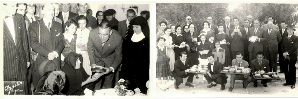 Dimarts Sant de 1950, arribada dels crevilllentins absents