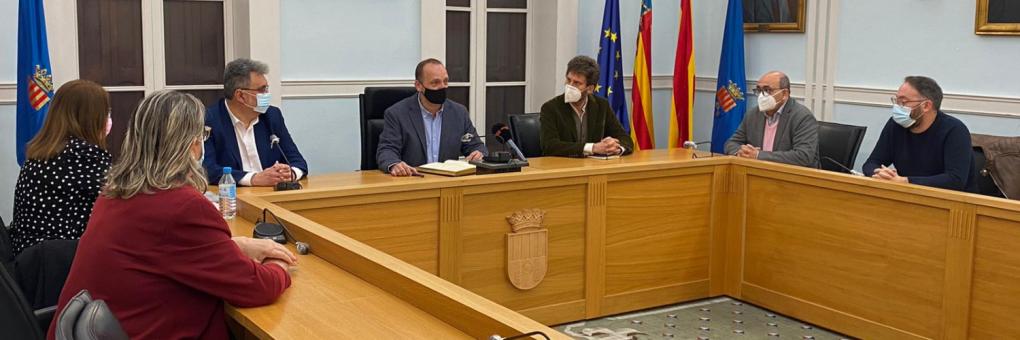 Crevillent rep la visita del conseller d'Habitatge i Arquitectura Bioclimàtica Rubén Martínez Dalmau