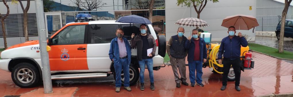 La Regidoria de Protecció Ciutadana adquirix una cuba d'aigua amb bomba multifuncions per a Protecció Civil Crevillent