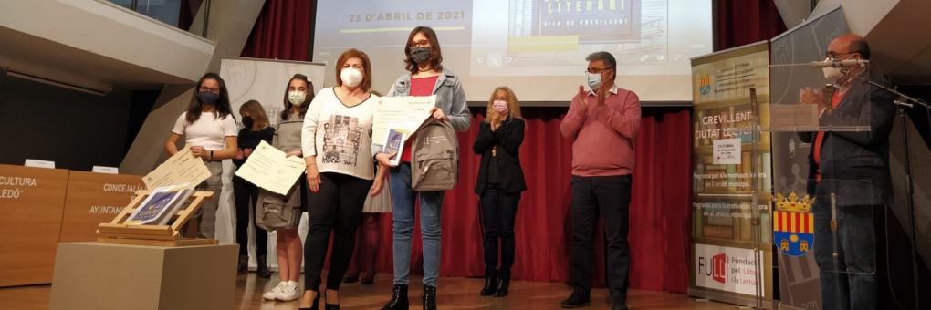 """Lliurament de premis als relats guanyadors del Certamen Literari """"Vila de Crevillent"""""""