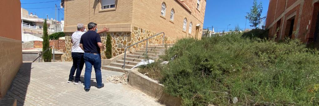 L'Ajuntament continua avançant en la neteja dels solars urbans