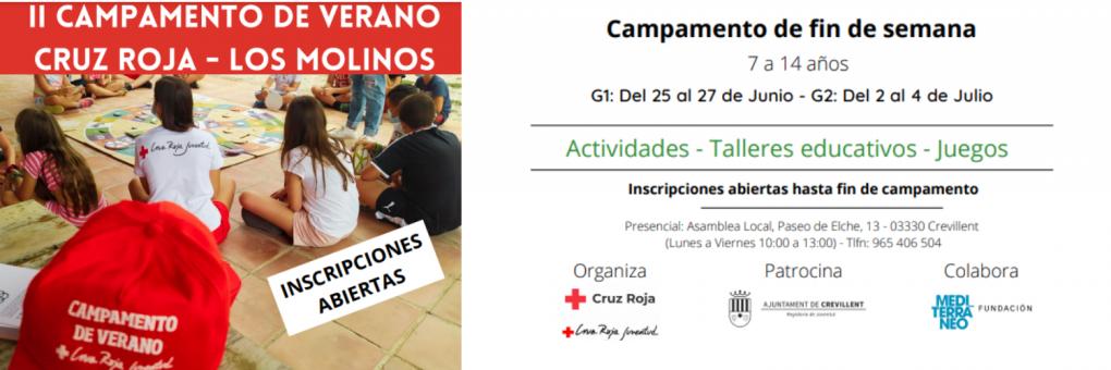 Torna el Campament d'Estiu de la Creu Roja al CEMA Els Molins