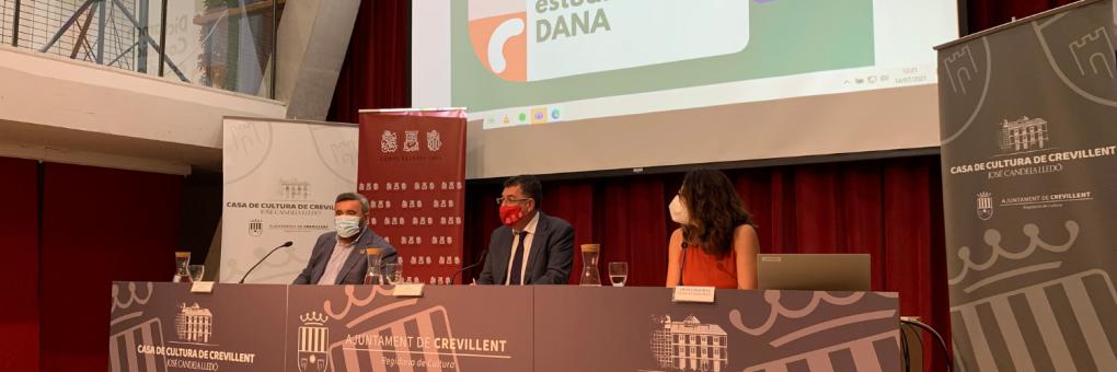 Les Corts Valencianes presenten el dictamen de la Comissió de la Dana a Crevillent