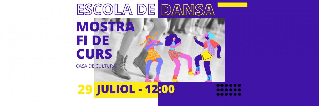 L'Escola de Dansa d'estiu organitza una mostra de ball per la fi de curs