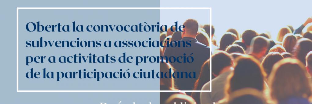Les associacions de Crevillent ja poden sol·licitar les subvencions municipals per a promoure la participació ciutadana