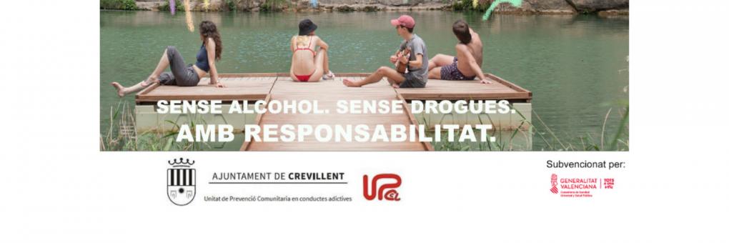 """La UPPCA de Crevillent llança la campanya de Prevenció """"Aquest estiu toca"""""""