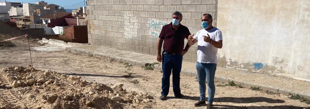 Comencen les obres de condicionament dels carrers Macha-Corrales
