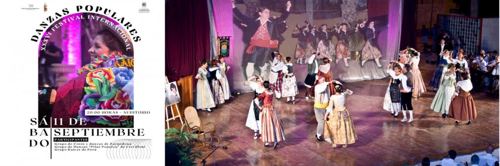 El Festival Internacional de Danses Populars de Crevillent celebra la seua 36 edició aquest dissabte