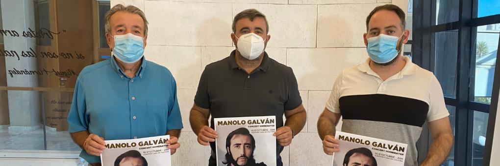 La música de Manolo Galván torna a Crevillent amb un concert homenatge