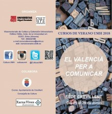 FOLLETO CURSO VALENCIA