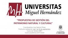 curso de verano de la UMH 2020