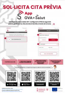 App GVA +Salut acces a cita previa