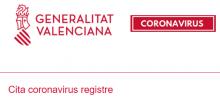 Registro cita coronavirus
